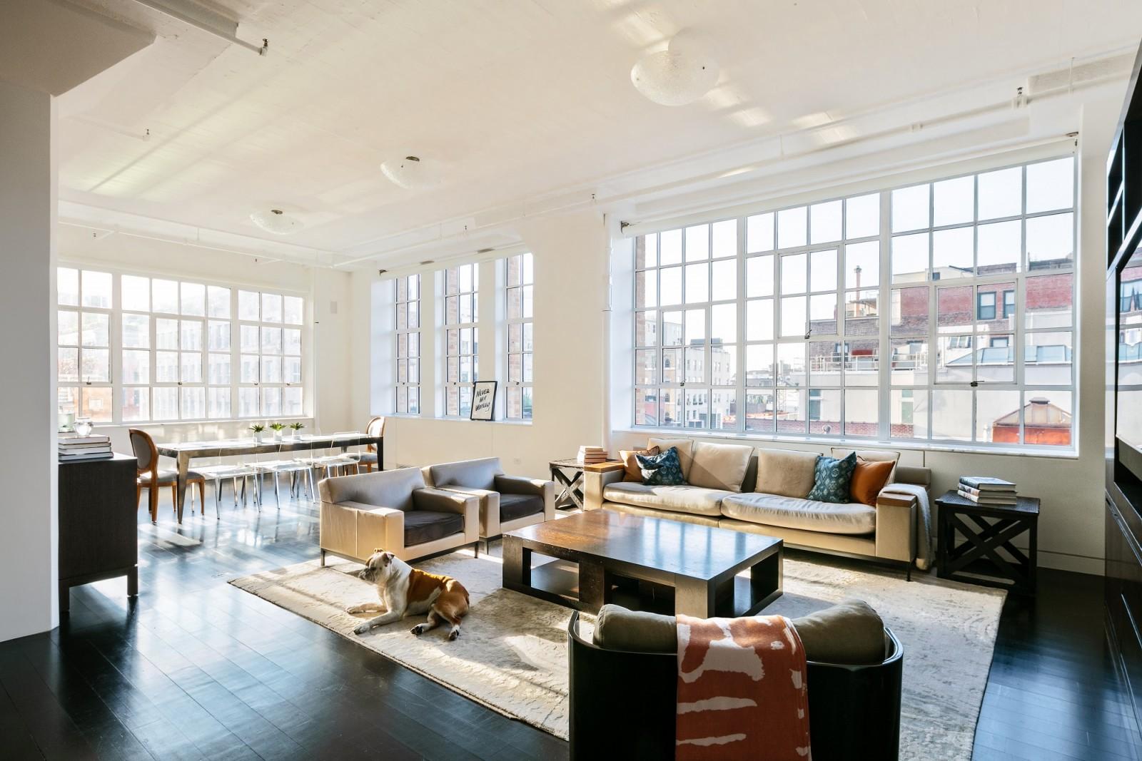 Stylish Open Plan Living Room Design