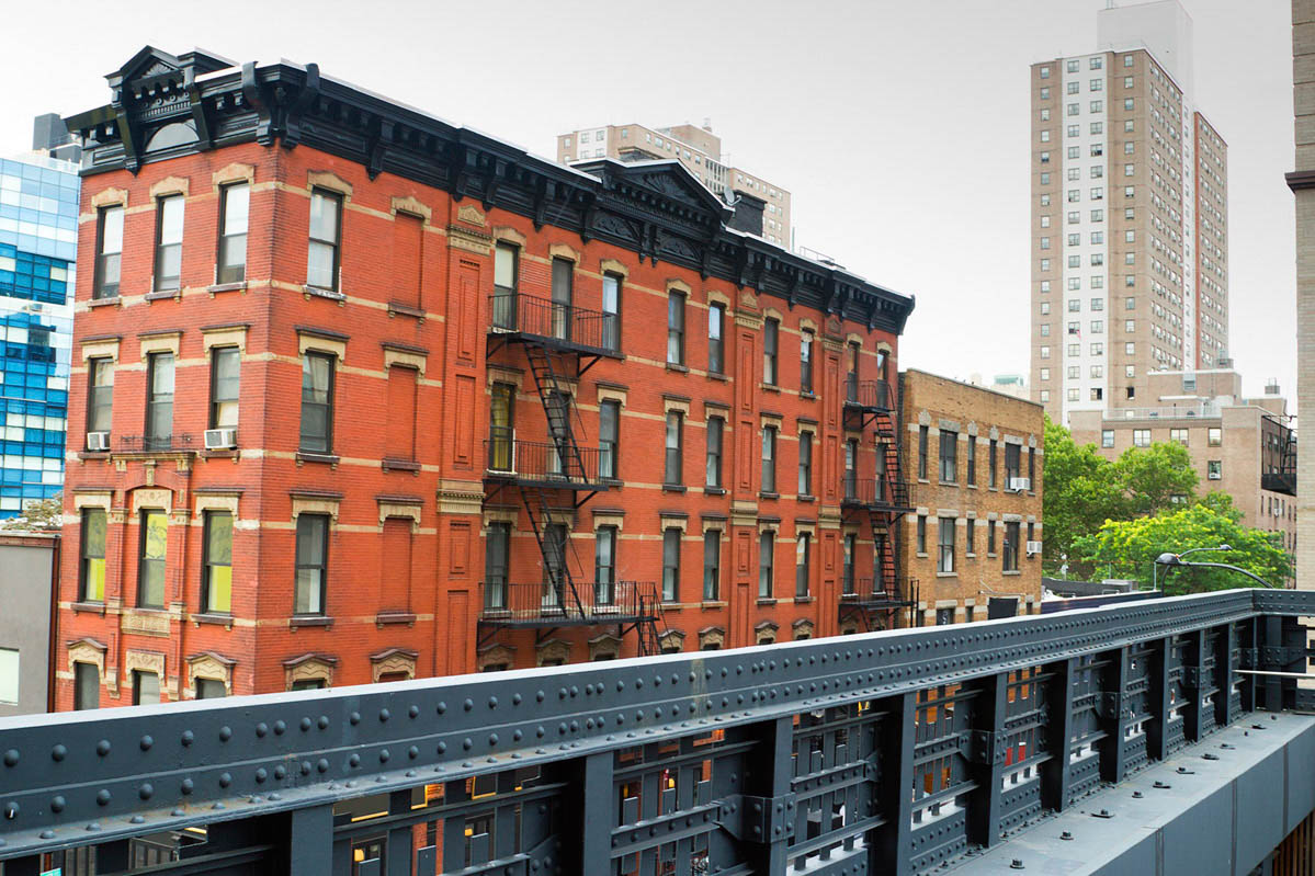Modern Building in Chelsea, New York